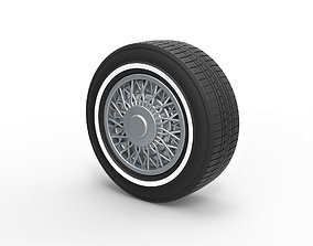 3D printable model Diecast wire wheel 2 Scale 1 to 10