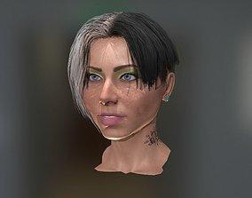 3D model Realistic face