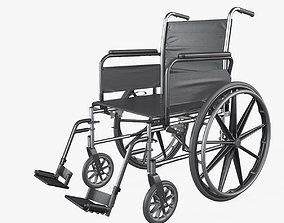 Wheelchair Manual 3D model hospital