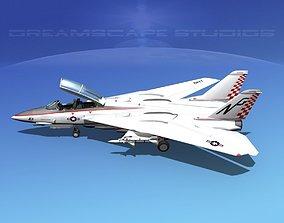 3D Grumman F-14D Tomcat T06a VF211