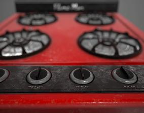 3D 4k Oven - 4K Textures Interior