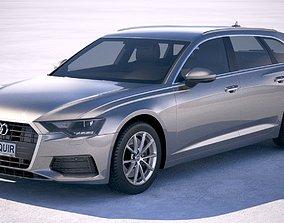 3D model Audi A6 Avant 2019