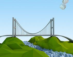 3D model Istanbul Lowpoly