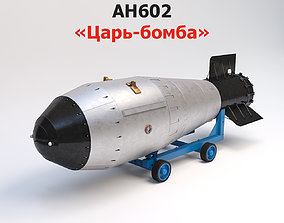 AH602 Tsar Bomba - The Soviet RDS-202 hydrogen 3D model