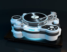 Vinyl player TechDAS Air Force One 3D model