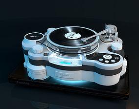 3D model Vinyl player TechDAS Air Force One
