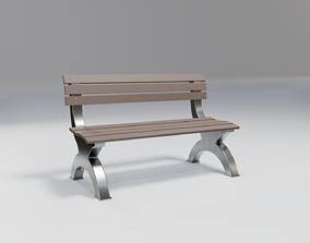 bench - sci-fi theme - modern 3D model