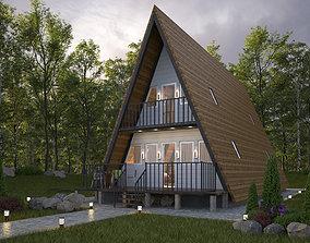 3D model MODERN TINY HOUSE