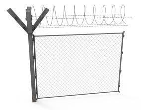 realtime Fence 3D model