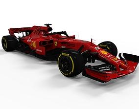 3D model Ferrari F1 2019 SF90