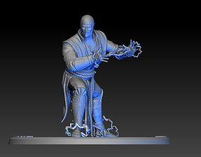 Raiden Mortal Kombat 3D print model