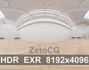 3D asset HDRI - Art Museum Gallery Interior 7 - 8192x4096