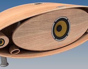 WerWald Audio AVE-A1 Music center 3D print model