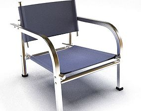 3D model Small Blue Chair