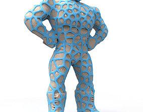 Luchador 1 - Dual Extrusion Remix 3D print model