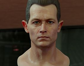 3d model Robert Patrick T1000 VR / AR ready
