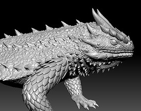 3D print model lizard