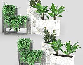 Fauna Small Outdoor Planter 3D