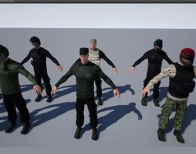 3D model PostApoMan unreal engine asset