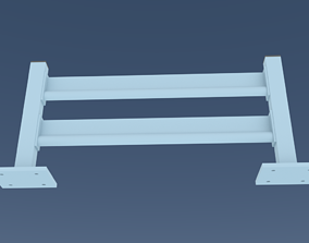 3D simple Guardrail bikers