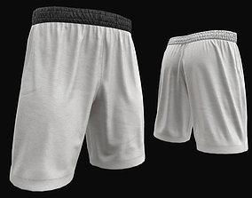 White shorts 3D model