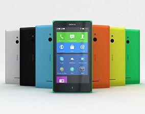 Nokia XL and XL Dual All Color 3D model