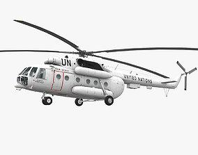 3D model Mi-8MTV United Nations