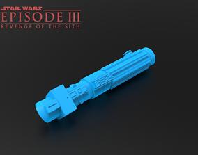 3D print model Darth Vader ROTS Lightsaber
