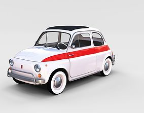 Fiat 500 Nuova Sport 1958 rev 3D