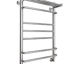 bedroom towel rail 3D model