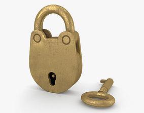 3D model Padlock padlock