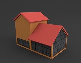 Hen House 3D asset