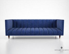Stuart Scott Fleure Sofa 3D model