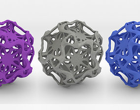 3D print model Drilled Perforated Dodecahedron Flower