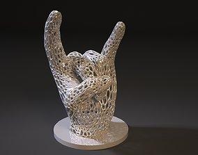 3D printable model rock voronoi