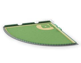 3D Sport Green Field
