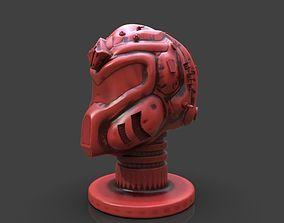 Sci-Fi Soldier Helmet 3D printable model