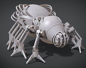 3D printable model Mechanical Spider