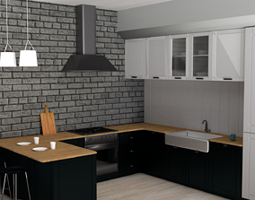 Kitchen 3D furniture