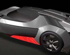 3D model Citroen Sports Car
