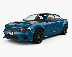 3D model Dodge Charger SRT Hellcat Wide body 2020