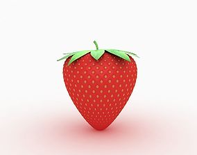 3D Strawberry produce