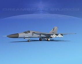 General Dynamics F-111 Aardvark V07 3D