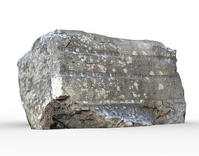 Phaselis Ancient Stone 3 3D asset low-poly
