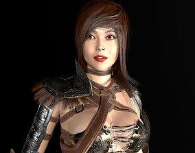 3D asset Gladiator Female