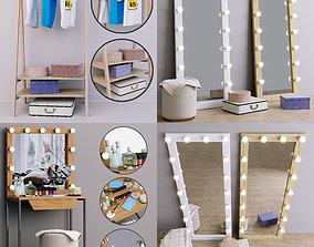 Furniture-set collection for home 3 models Economical 3D