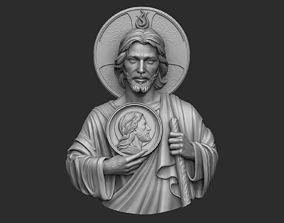 3D print model Saint Jude Pendant
