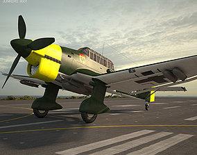 wwii Junkers Ju 87 Stuka 3D model
