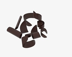 Chocolate Shave 3D