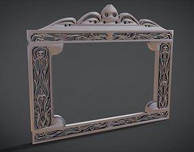 Simple Frame Window Ornament Furniture 3D printable model